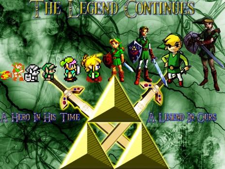Link: A Hero, A Legend