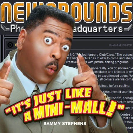 The Newgrounds Photoshop Headquarters is open!