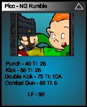 Pico´s Trading Card