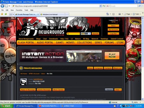 Newgrounds Madness Day is AWESOME!