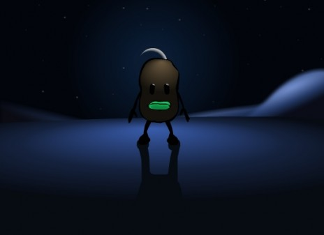 Alien Potato: My upcoming cartoon