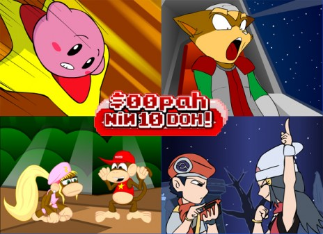 Brawl Funnies + Rangers: THE MOVIE Stats + $00pah NiN10Doh! Screencaps