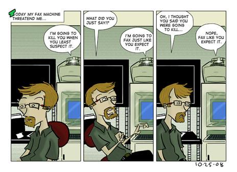 Evil Fax Machine