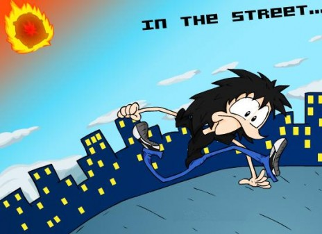 """New movie """"In the street"""" now in Newgrounds!"""