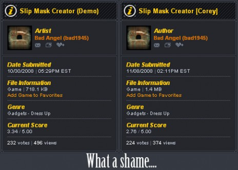 Slipknot mask Creator