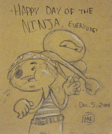 Happy Day of the Ninja!