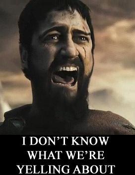 Leonidas is sad