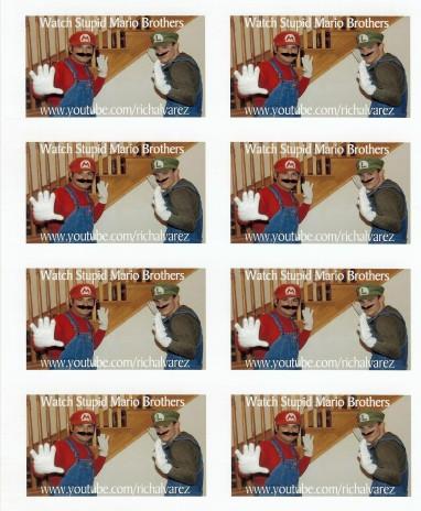 Ad for Youtube!!!: Stupid Mario Bros.