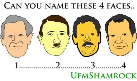 can you name this 4 faces?
