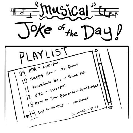 Musical Joke of the Day!