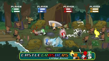 Just bought CC [Castle Crashers]
