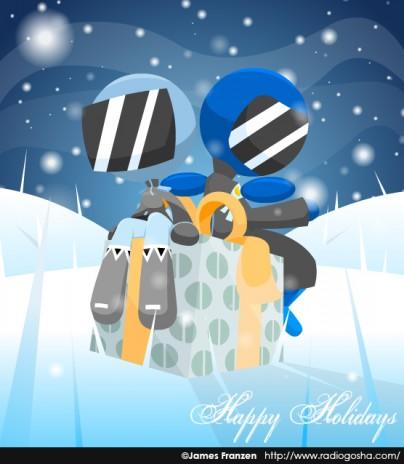 Happy Holidays 2008 from RADIO GOSHA