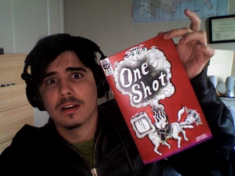 One Shot Comic Collab is in my hands!