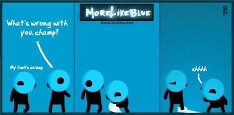 MoreLikeBlue: Asleep