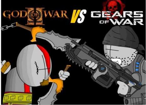 God of war vs Gears of war  GOW VS GOW