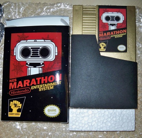Bid on a custom NES Pak for Charity!