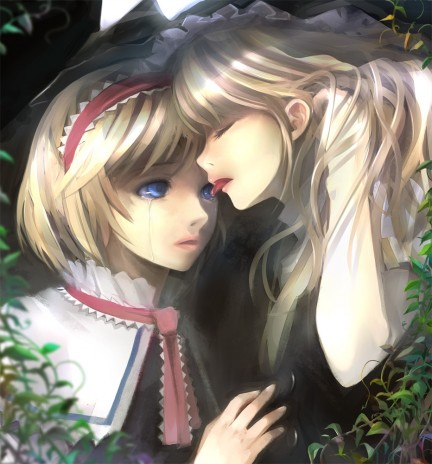 Alice and Marisa.