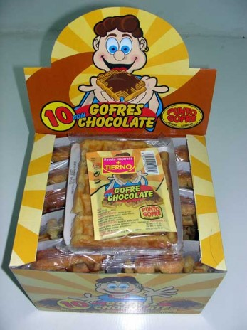 Chocolate waffles! Now in Spanish!