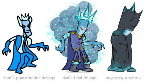 castle crashers frost king drawing