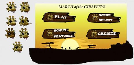 somethign giraffey this way comes