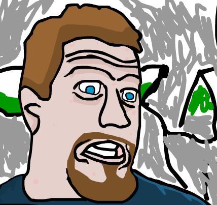 I drew a portrait of krinkels
