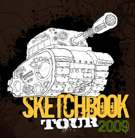 gotoAndStart: Sketchbook Tour 2009