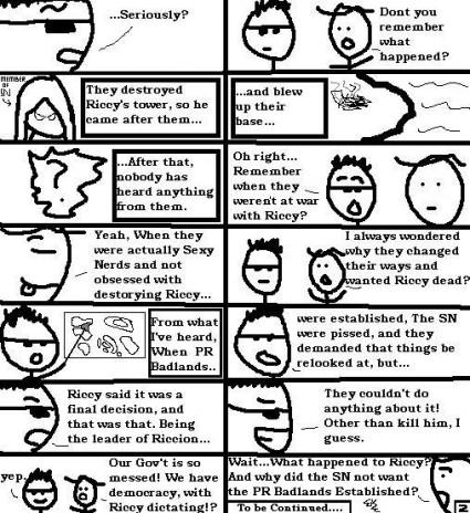 Comic 2: Adventures of Tino and Tim!