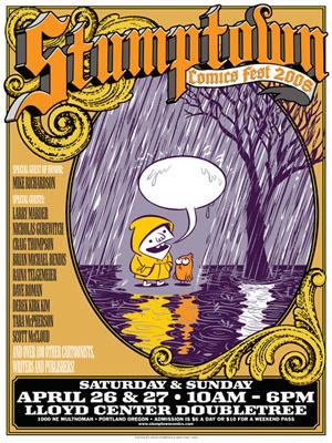 Stumptown Comics Festival 2oo9 YEAH!