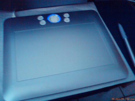 a digital tablet o my good!!!!!!!!!! im so exited.....jeje