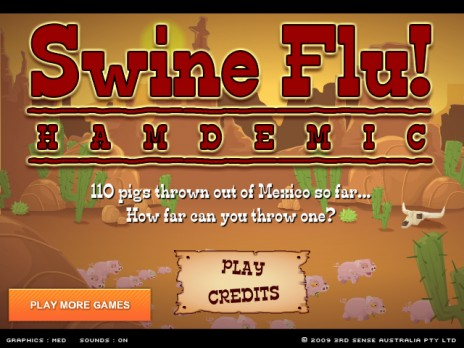 Join the battle against Swine Flu with my new game.