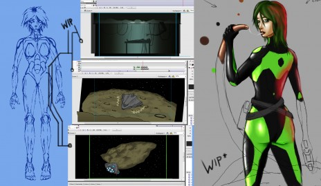 Artist/Animator for Power of Three Event!