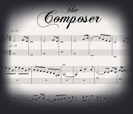 the Composer: SHEET MUSIC