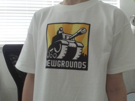 Pics of my NG Logo Shirt for Kids