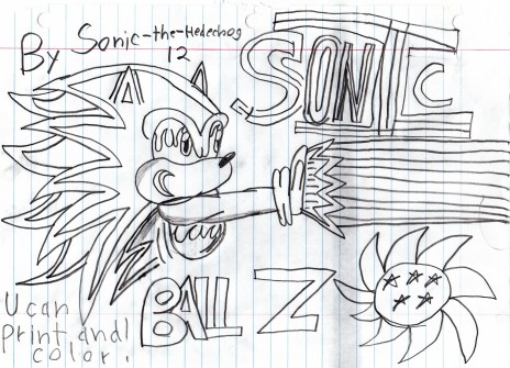 Sonic ball Z.