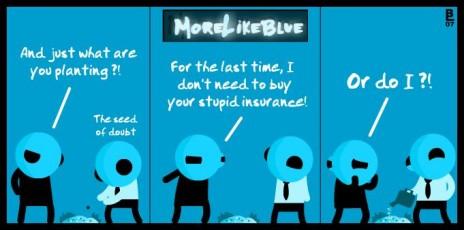 MoreLikeBlue: Seed