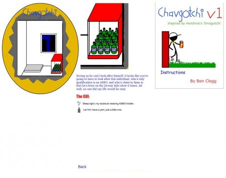 Chavgotchi on hold