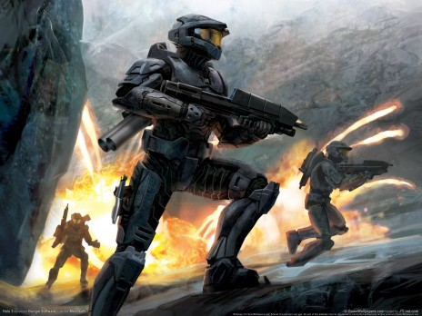 Got a way cool new Halo Wallpaper!
