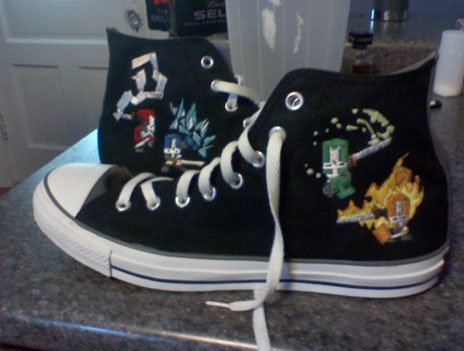 More Castle Crashers Shoes