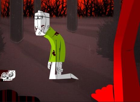 Andrew Kauervane is entering Newgrounds Halloween 2007