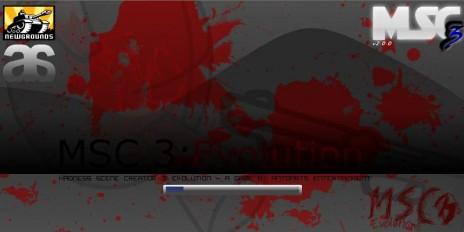 MSC 3: Evolution Splash/Load Screen