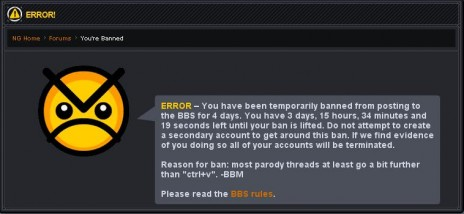 My awesome ban!