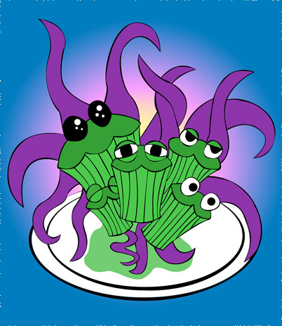 Updates, ng friends, music, blah blah blah and tentacle muffins!
