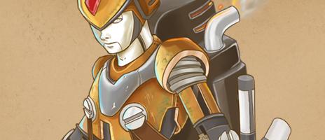 Megaman Steampunk & Po3