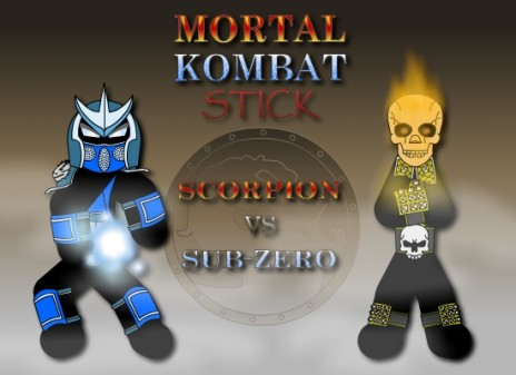 Mortal Kombat Stick is 50% Completed
