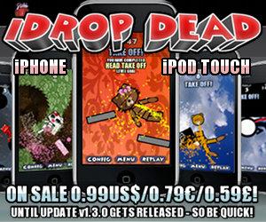 More iDrop Dead news!