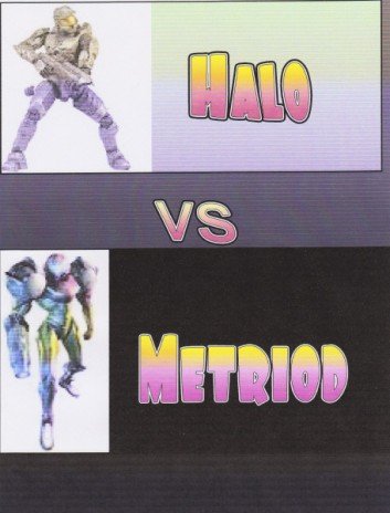 Halo vs Metroid part 1 webshow P.S. It will take a while though, See the comic first.
