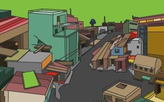 A Slum Setting