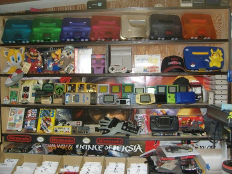 Cool Retro Video Game Store!