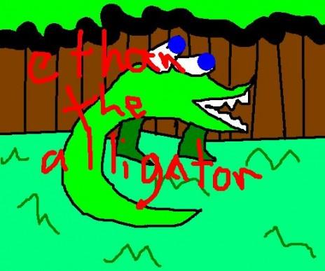 Ethan the Alligator