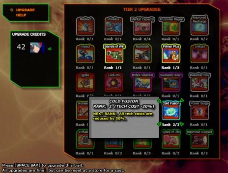 Megaman X RPG Chapter 2 Update: Tier 2 Upgrades